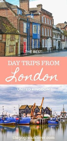 A list of the best day trips from London by train car or guided tour. The best things to do outside London including charming old villages beach side towns historic universities ancient monuments royal castles and scenic nature. Europe Travel Tips, Travel Destinations, Travel Uk, Travel Info, Travel Abroad, Hawaii Travel, Holiday Destinations, Thailand Travel, Italy Travel