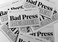 Bad Press - Lauren Gallagher