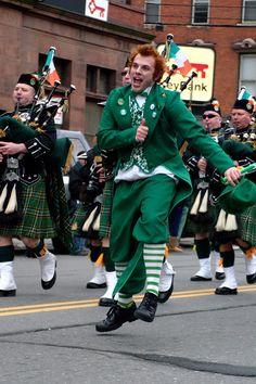 Every St Patricks Day Parade needs a leprechaun!
