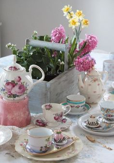 A lovely tea time