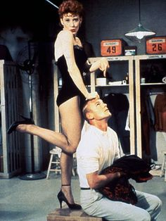 Damn Yankees (1958) -- staring Tab Hunter, Ray Walston and Gwen Verdon - Whatever Lola Wants, Heart - costumes by William and Jean Eckart