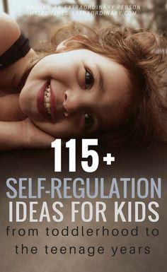 Self Regulation Strategies for kids of all ages - #EmotionalRegulation #MutualRegulation #ParentingIdeas #SpecialEducation #Autism #ADHD #LifeSkills