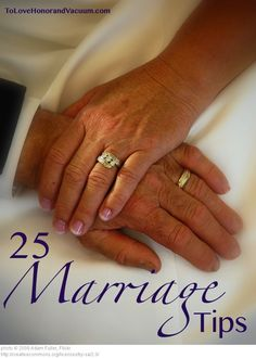 25 Marriage Tips