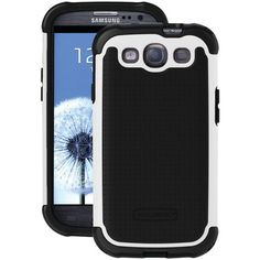 Ballistic Tough Jacket Samsung Galaxy S Iii Tough Jacket Case (black And Black And White) - MNM Gifts