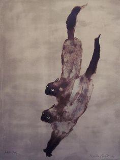 """Kaiko Moti - """"Two Cats"""", 1964"""