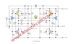 www.eleccircuit.com wp-content uploads 2007 06 Schematic-diagram-of-power-amp-super-bridge-120w-by-ic-tda2030.jpg