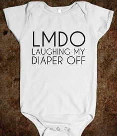 LMDO - glamfoxx.com - Skreened T-shirts, Organic Shirts, Hoodies, Kids Tees, Baby One-Pieces and Tote Bags #babyclothesfunny