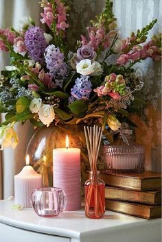 Romantic French Country Vignette