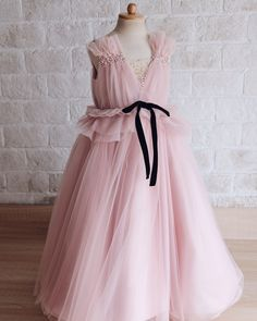 thankyou for trusting us custom SHELBY Gowns For Girls, Wedding Dresses For Girls, Little Girl Dresses, Girls Dresses, Flower Girl Dresses, Look Fashion, Kids Fashion, Kids Gown, Princess Outfits