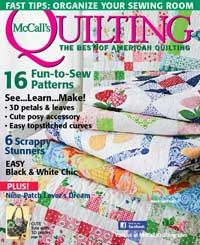 McCall's Quilting Magazine, March/April 2012. Click link above to preview every pattern in the issue.