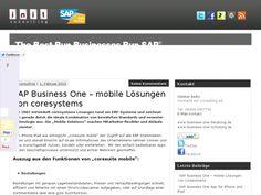 Mobile Solutions von coresystems - coresuit mobile