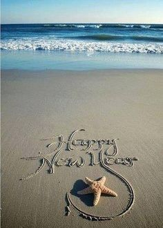 Happy Nee Year from the beach