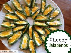 Cheesy Jalapenos Recipe – A 10 Minute Appetizer!