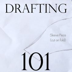 "I really wish people would stop referring to tracing-off existing clothing as ""pattern drafting"". It's deceptive. Still - lots of good sewing 101 type series posts here."