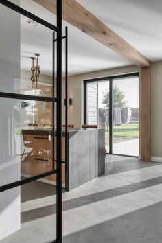 House Extension Design, House Extensions, Wood Beams, Ceiling Beams, Beautiful Space, Family Room, New Homes, Interior Design, Furniture