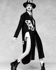 KENDALL JENNER EXIBE TENDÊNCIAS INVERNO PARA VOGUE JAPO OUTUBRO 2016  Fragmentos de Moda
