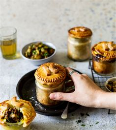 12 Flaky, crispy and buttery pie recipes for when soup just won't do Vegetarian Tart, Vegetarian Recipes, Pie Recipes, Chicken Recipes, Savoury Recipes, Mexican Pastries, Best Pie, Beef Bourguignon, Stuffed Sweet Peppers