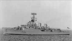 HMS Zulu (F124) was a Tribal-class frigate of the Royal Navy in service from 1964 to 1984. She was the third ship bearing the name of HMS Zulu.She was built by Alexander Stephen and Sons, of Govan, at a cost of £5,100,000. She was launched on July 3, 1962 and commissioned on April 17, 1964. Zulu was the only Tribal built with Seacat missiles!