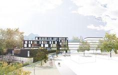 Residential Building Alpenstrasse-DMAA