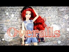 How to Make Doll Overalls - YouTube