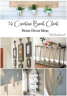 16 Super Creative Boat Cleat Decorating Ideas