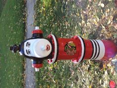 Our Chicago Blackhawks fire hydrant