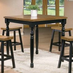 Winners Only Quails Run Counter Height Square Tall Dining Table - DQT13636AE