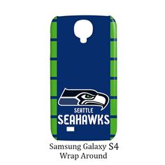 Seattle Seahawks Samsung Galaxy S4 Case Cover Wrap Around