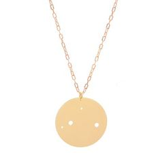 Libra Necklace, $38, now featured on Fab. Necklaces with your astrological constellation. What a cute idea.