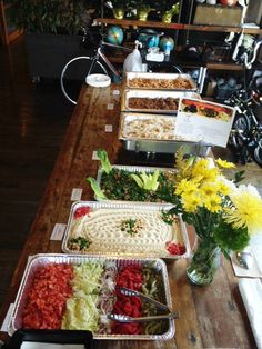 Office catering: Chicken Shawarma, Beef Kafta, Tabbouleh, Rice Pilaf, and more!