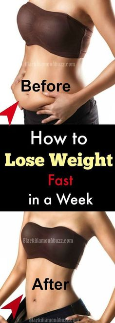 How to lose weight fast in a week with healthy diet and Detox cleansing