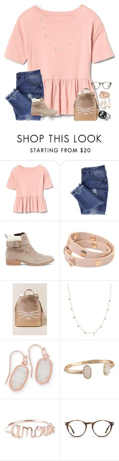 """~mwah~"" by taylortinsley ❤ liked on Polyvore featuring Essie, Sole Society, Tory Burch, Francesca's, Kendra Scott and Persol"