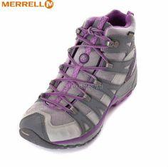Merrell Women Avian Light GTX Mid Waterproof Outdoors Hiking Boots Trail Shoes #Merrell #WalkingHikingTrail