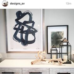 "AV design project featuring my ""Loop"" print."