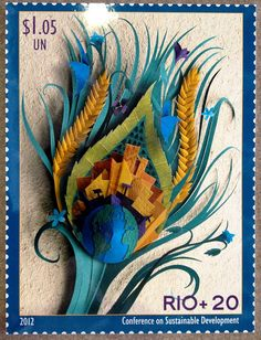 Rio+20 Stamp by United Nations Information Centres, via Flickr