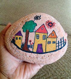 My first attempt on stone art... Absolutely loveeeee it!!!