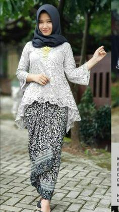 Kebaya wisuda Model Kebaya Modern Muslim, Kebaya Modern Hijab, Kebaya Hijab, Kebaya Brokat, Kebaya Muslim, Batik Muslim, Kebaya Lace, Batik Kebaya, Kebaya Dress