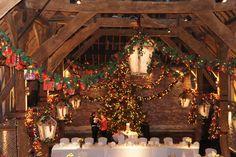 Cooling castle barn christmas wedding 2013