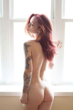 tattoo women, girl tattoos, tattood beauti, tattoo babe, tattoo girl, tattoo beauti, redhead, ink girl, hatti watson