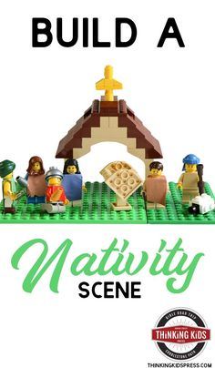 Looking for a LEGO Nativity scene? You won't find one, but you can build your own Nativity scene with instructions to build a Nativity scene. Bible Crafts For Kids, Preschool Activities, Lessons For Kids, Bible Lessons, Homeschool Math, Christian Parenting, Raising Kids, Kids Board, Nativity