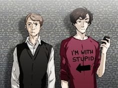 If Sherlock wore a T-shirt.