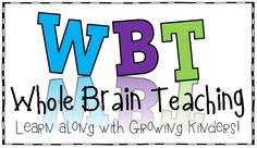 Love Whole Brain Teaching.  Used parts this past year and want to use more.  Thanks for all the great info! #growingkindersfavoritething