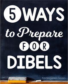 Kindergarten Smarts: 5 Ways To Prepare For DIBELS