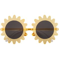 H&M Sunglasses (¥1,120) ❤ liked on Polyvore featuring accessories, eyewear, sunglasses, glasses, fillers, yellow, yellow glasses, h&m, h&m glasses and uv protection sunglasses