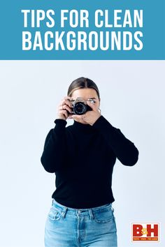 Evenly lit backgrounds have endless applications and are not hard to accomplish with the right tools and techniques. Here are some tips for getting consistent black, white, and color backgrounds straight out of camera.