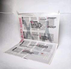 ISTD Imbalance by James O'Connell, via Behance