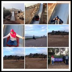 Great collage by Pajilah on Twitter @FaZiLaH7 using Instagram to share. Taken 2 Oct 2013 at #StKildaplayground She says its 'an adult playground and it's awesome!' #adelaide http://instagram.com/p/e9tAf7B_sS/