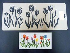 Resultado de imagen para stencil de flores grandes