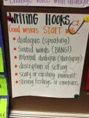 the point of an anchor chart is to anchor the teaching and learning that is happening in your classroom, so they should be reflective of the work that you and your students are doing.
