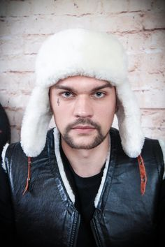 Arctic Fur Russian-Style Hat, One of the most beautiful and authentic fur we've encountered. Russian Fashion, Russian Style, Mens Fur, Trendy Collection, Natural Leather, Hats For Men, Warm And Cozy, Fur Hats, Winter Hats